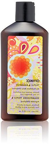 amika Triple Rx Shampoo, 10.1 Fl Oz