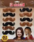 Western Moustache Self-Adhesive Kit  - 391634