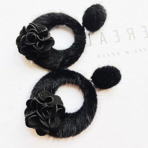 winter earrings women girls 925