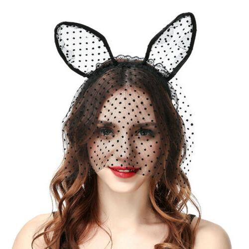 Women Mask Headband Hair