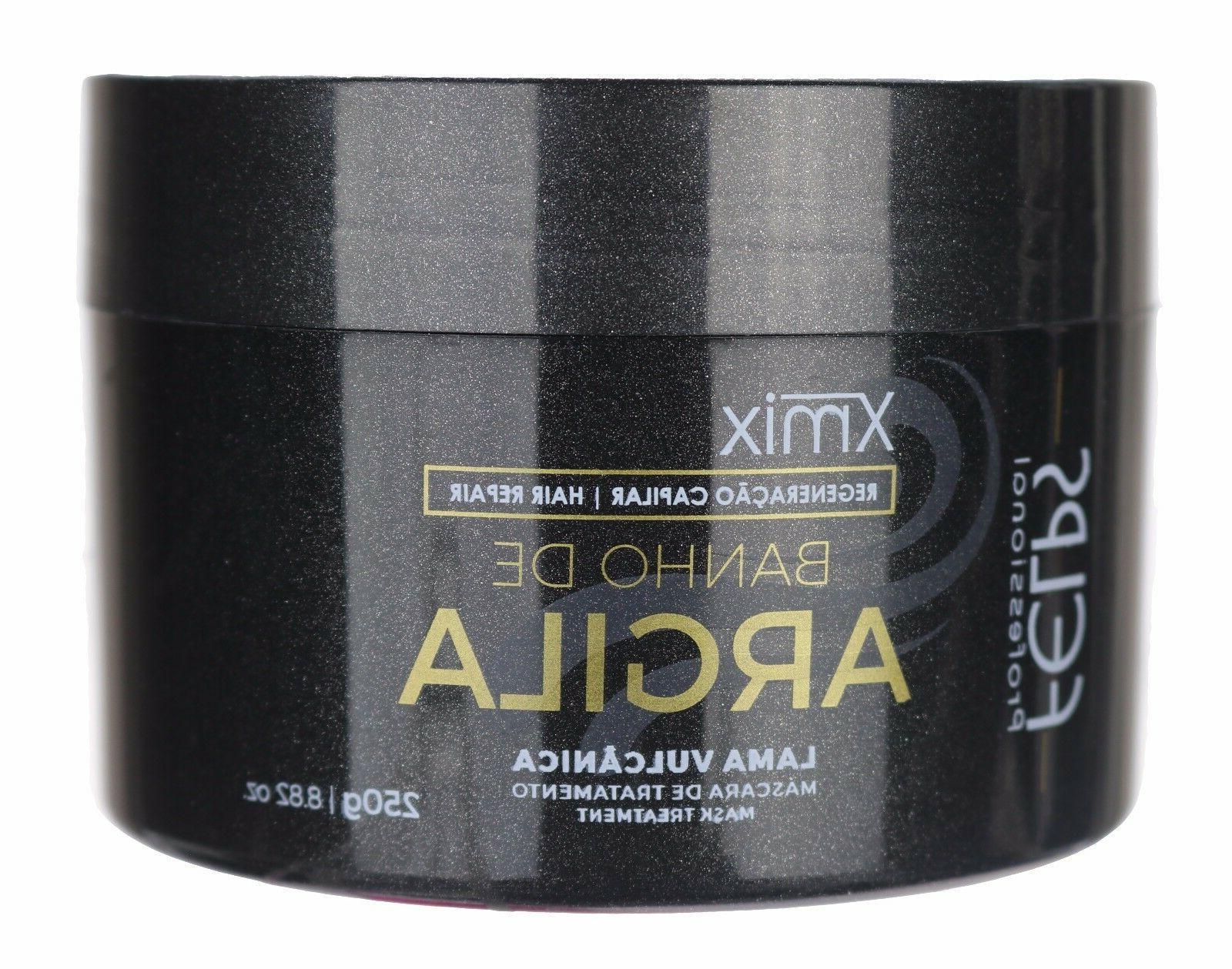 xmix clay bath mask hair treatment brazilian