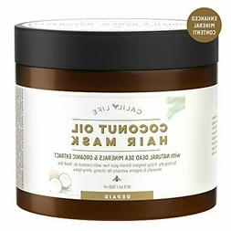 Calily Life Organic Coconut Oil Hair Mask with Natural Dead