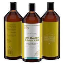Calily Life Organic Moroccan Argan Oil Shampoo + Conditioner