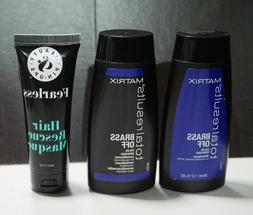 LOT Matrix Brass Off Shampoo & Conditioner + Beauty & Pin-Up