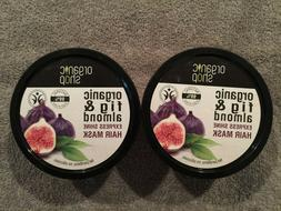 Lot of 2 ORGANIC SHOP Greek Fig & Almond Express Shine Hair