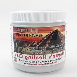 Mayan Pure Indian Healing Clay Powder, Deep Pore Skin Cleans