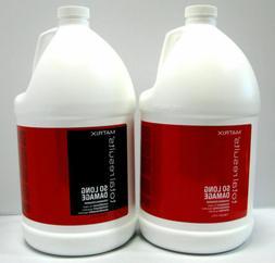 Matrix Mega Sleek Shampoo and Conditioner Gallon Set Total R