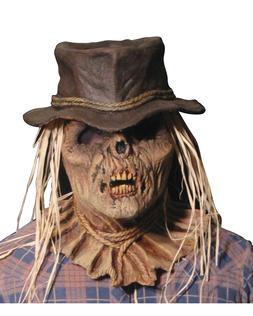 Morris Costumes Men's Zombie Scarecrow Dirty Old Latex Raffl