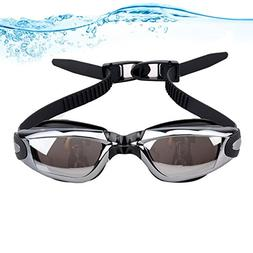 Mirrored Swimming Goggles Underwater Snorkeling Competitive