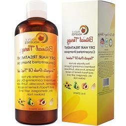 Moisturizing Shampoo for Dry Damaged Hair + Scalp - Anti Fri