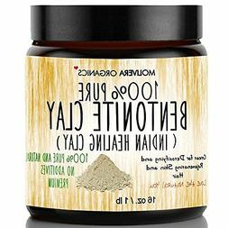 Molivera Organics Bentonite Clay for Detoxifying and Rejuven