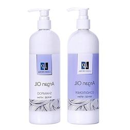 LADO PETRA Natural Moroccan Argan Oil Shampoo and Conditione