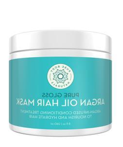 Moroccan Argan Oil Hair Treatment Mask, 8 Ounce