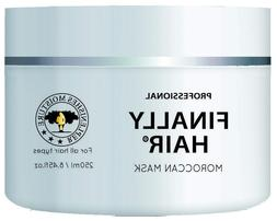 Moroccan Hair Mask Treatment by Finally Hair Smooths Moistur