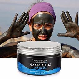 NEUTRIHERBS 8.8oz Mud Mask - Dead Sea Mud Mask For Face, Acn