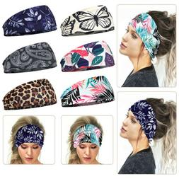 Multi-functional Elastic Hair Wrap Headband Mask Cover Bohem