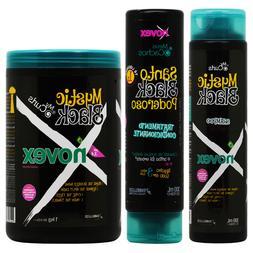 Novex Mystic Black Shampoo+Conditioner 10.1oz +Hair Mask 1kg