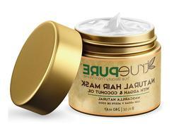 Natural Hair Mask W Argan Oil Coconut Jojoba & Saw Palmetto