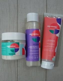 Emerge For Naturals 3pc Lot It's Knot Happening Shampoo Hair