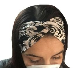 Headband With Buttons For Face Mask Nurses/Doctors Women's