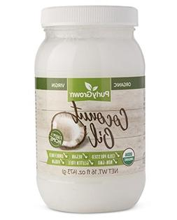 Organic, Cold Pressed Coconut Oil - Extra Virgin, Unrefined,