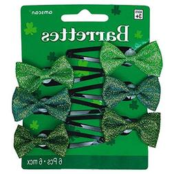 St. Patrick's Day Barrettes Costume Party Hair Accessory Fav