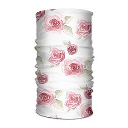 Pink Roses Unisex Fashion Quick-Drying Microfiber Headdress