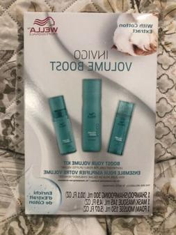 Wella Professionals Invigo Hair Volume Boost Kit Shampoo Mas