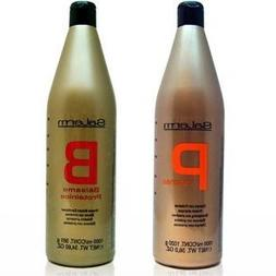 Salerm Proteinas Protein Shampoo 36.0 oz  & Salerm Protein B