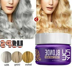 PURC Blonde Purple Hair Root Mask Remove Yellow Brassy Tones