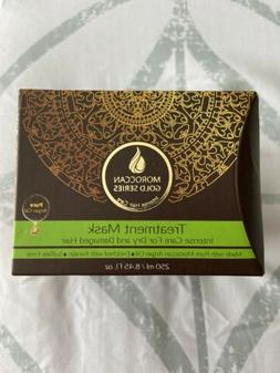 Moroccan Gold Series Pure Argan Oil Treatment Mask for Dry a