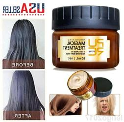 PURE Hair Mask Treatment Magical Keratin Moisturizing Damage