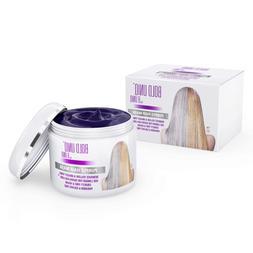 Purple Hair Mask Blonde Platinum Silver Hair Beauty Personal