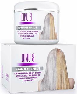 Purple Hair Mask For Blonde, Platinum & Silver Hair - No Yel