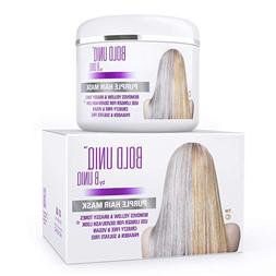 Purple Hair Mask for Blonde, Platinum & Silver Hair Sulfate