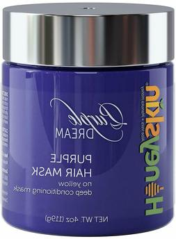 Purple Hair Mask for Blonde, Silver or Platinum Color - Deep