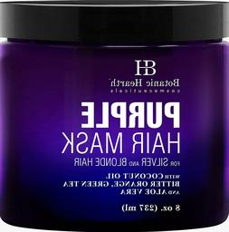 Purple Hair Mask - for Blonde, Silver & Gray Hair, Sulfate &