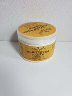raw shea butter deep treatment masque 12