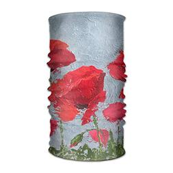Red Poppy Flower Unisex Fashion Quick-Drying Microfiber Head