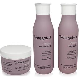Living Proof Restore – 3 Item Value Set – 1 Shampoo –