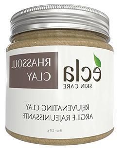 Rhassoul Clay Face and Hair Mask Powder - Spa Grade 100% Pur