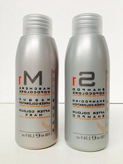 Echos Line S1 After Color Shampoo 3.38 Oz and M1 After Color