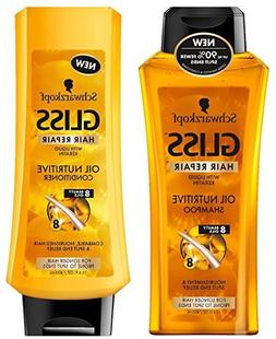 Schwarzkopf Gliss Hair Repair - Oil Nutritive - Shampoo & Co