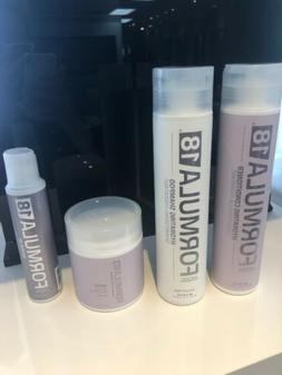 Set Of 4 Formula 18 Hydrating Shampoo/Conditioner/Repair Oil