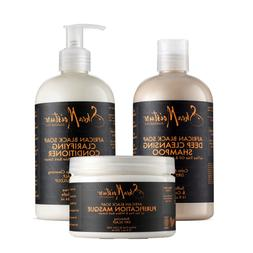 SheaMoistureAfrican Black Soap Hair Care Pack | 13 fl. oz. D