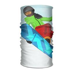 Skiing American Girl Unisex Fashion Quick-drying Microfiber