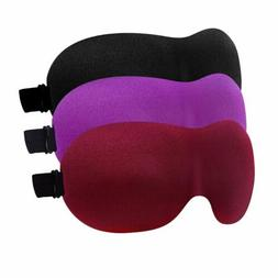 YIVIEW Sleep Mask Pack of 3, Lightweight & Comfortable Super