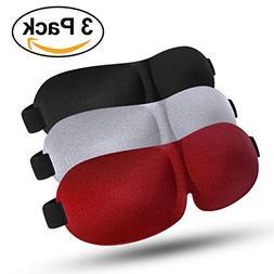Sleep Mask, Lightweight & Comfortable Super Soft Large Adjus