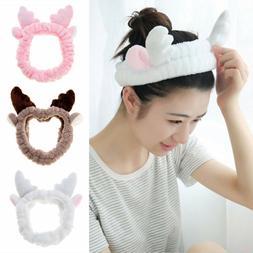 SPA Mask Makeup Hair Band Shower Head Wrap Women Elastic Hea