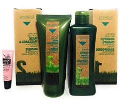 Salerm Biokera Specific Oily Hair Shampoo 10.8oz and Mask 6.